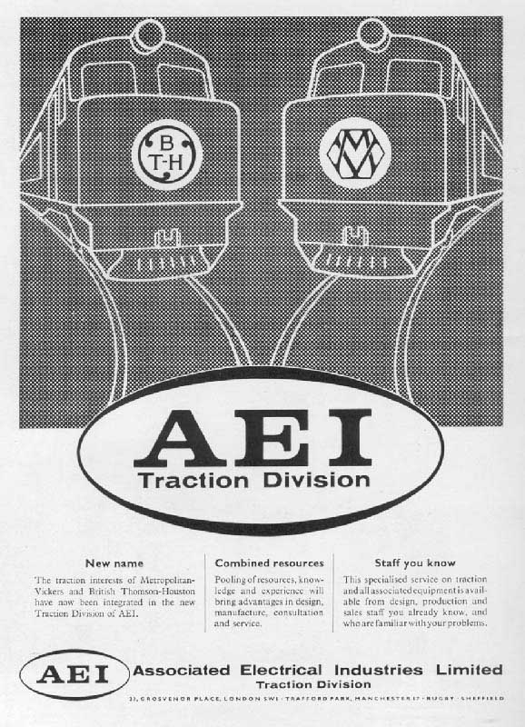 Advertisement Showing The Attempt By Aei To Unify The The